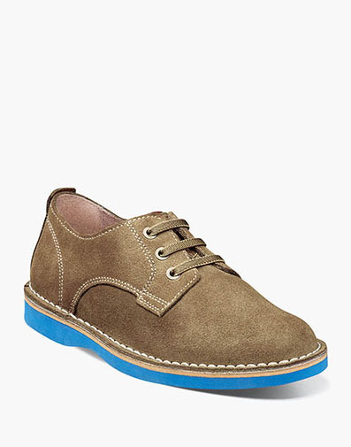 Navigator Jr. Plain Toe Oxford  in Mushroom for 59.95 dollars.