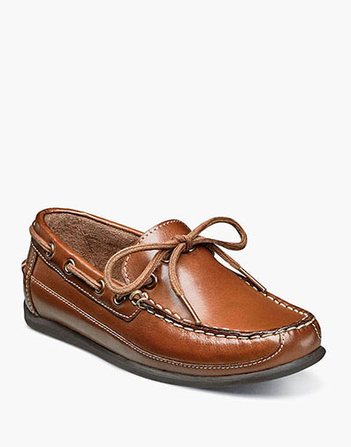 Jasper Tie Jr. Moc Toe Slip On Loafer in Saddle Tan for $55.00