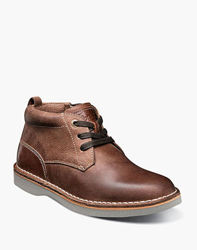 Navigator Jr. Plain Toe Chukka Boot in Brown CH for $65.00