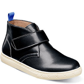 Curb Jr. Strap Chukka Boot in Black for 59.95 dollars.