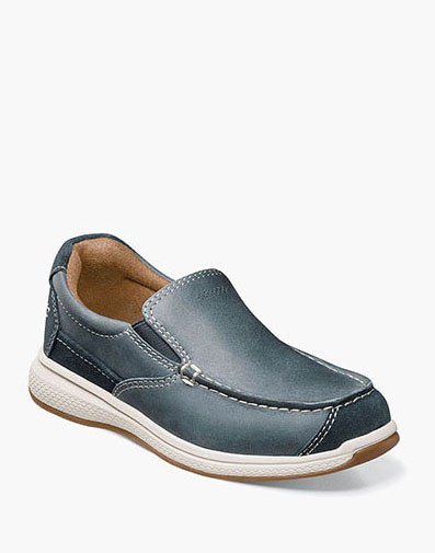 Great Lakes Jr. Moc Toe Slip On in Indigo for $59.95