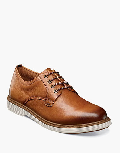 Supacush Jr. Plain Toe Oxford in Cognac for 62.95 dollars.