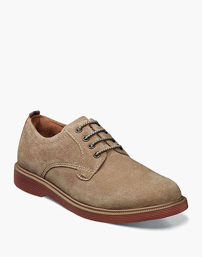 Supacush Jr. Plain Toe Oxford in Sand for 62.95 dollars.