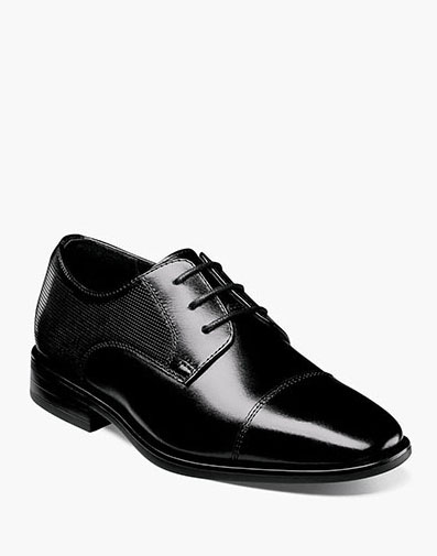 The featured product is the Postino Jr Cap Toe Oxford.