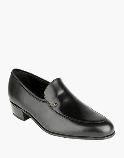 Lake Moc Toe Slip On Loafer in Black for 120.00 dollars.