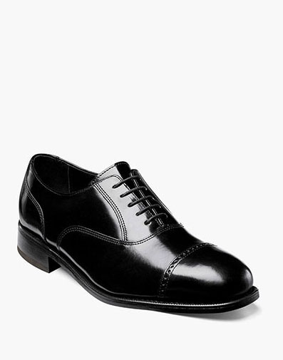 Lexington Cap Toe Oxford in Black for 115.00 dollars.