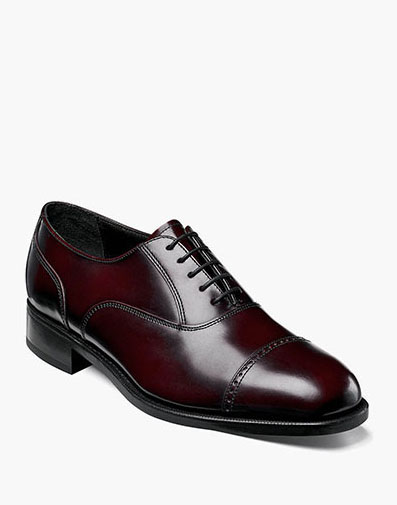 Lexington Cap Toe Oxford in Burgundy for 115.00 dollars.