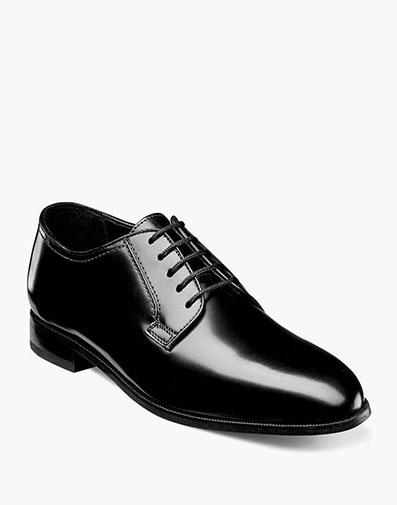 Lexington Plain Toe Oxford in Black for 115.00 dollars.