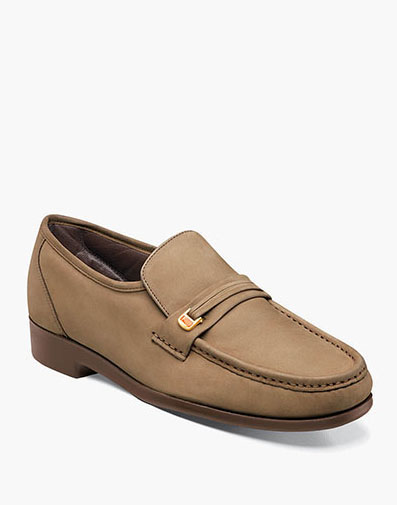 Riva Moc Toe Bit Loafer in Sand for 79.90 dollars.