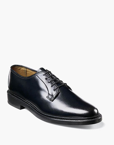 Kenmoor Plain Toe Oxford in Black for 225.00 dollars.