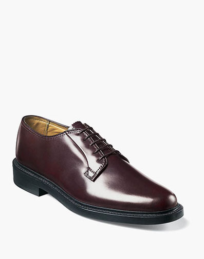 Kenmoor Plain Toe Oxford in Burgundy for 225.00 dollars.