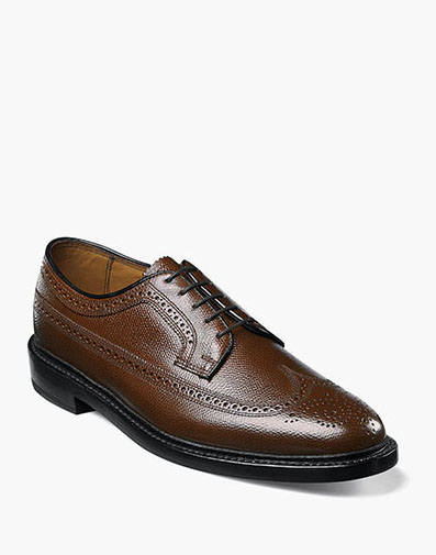Kenmoor Wingtip Oxford in Cognac for 230.00 dollars.