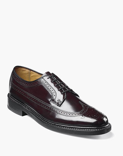 Kenmoor Wingtip Oxford in Burgundy for 230.00 dollars.