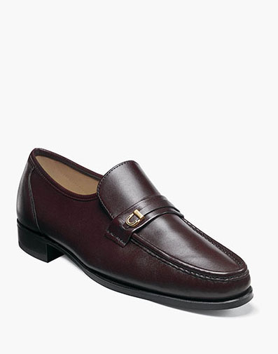 Como Moc Toe Bit Loafer in Brown for 185.00 dollars.