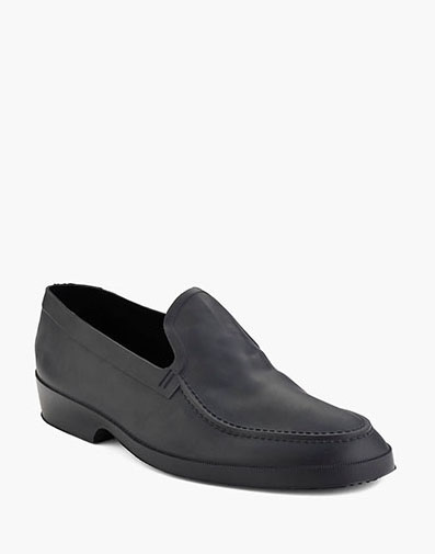 Moccasin Overshoe All-Weather Protection in Black for 23.00 dollars.