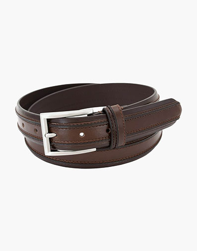 Torrent Genuine Leather Belt in Brown for $39.00