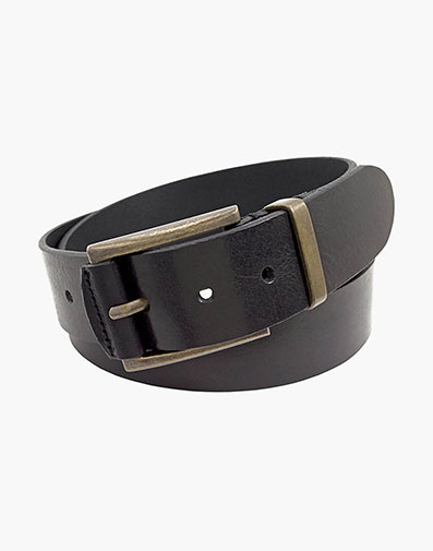 Curtis Genuine Italian Leather Belt in Black for 85.00 dollars.