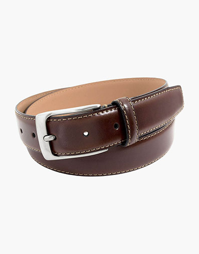 Guicciardi Genuine Italian Leather Belt in Brown for 65.00 dollars.