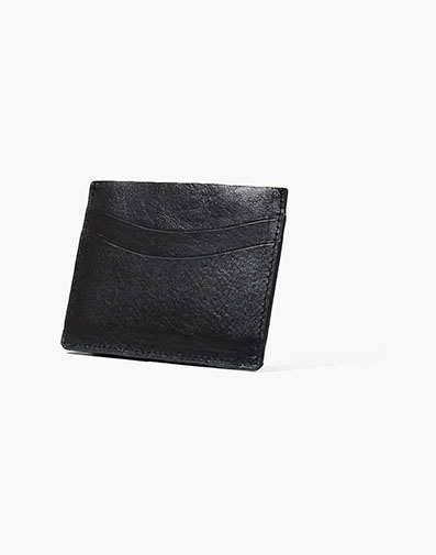 Card Holder Black in Black for $40.00