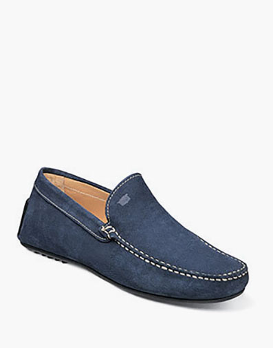 Comet Moc Toe Venetian Driver in Indigo for 139.90 dollars.