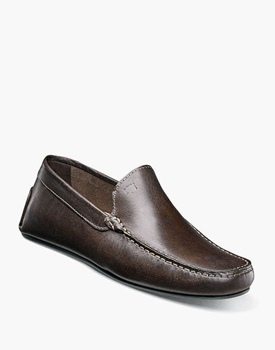 Comet Moc Toe Venetian Driver in Brown for 139.90 dollars.