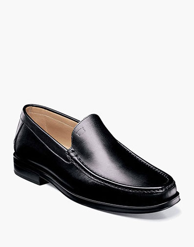 Palace Moc Toe Venetian Slip On in Black for 175.00 dollars.