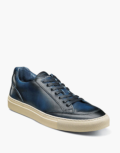 Rocket Moc Toe Lace Up Sneaker in Ocean for $175.00