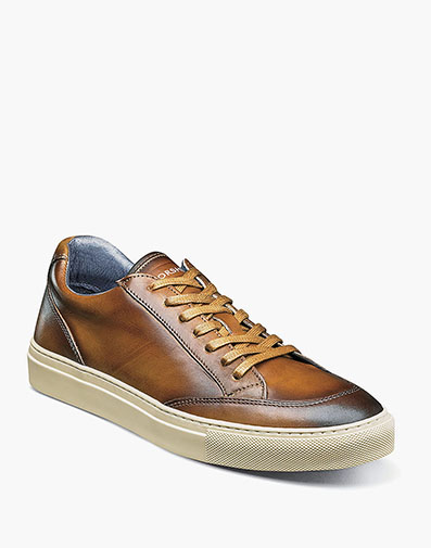 Rocket Moc Toe Lace Up Sneaker in Cognac for $175.00