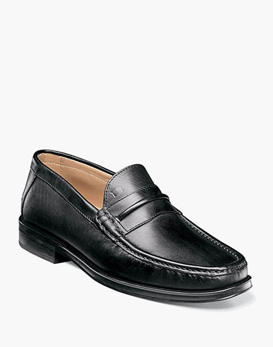 Palace Moc Toe Strap Loafer in Black for 175.00 dollars.
