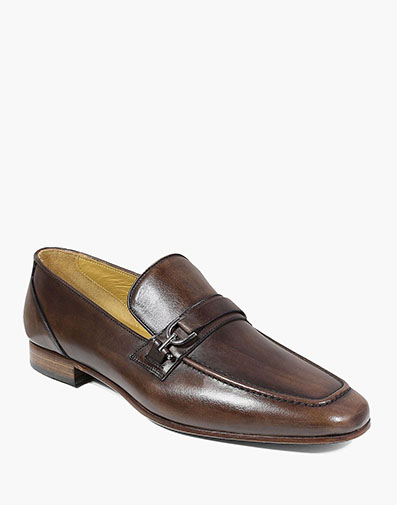 Hotter Moc Toe Bit Loafer in Brown for $195.00
