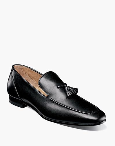 eafd0906e70 Hotter Moc Toe Tassel Loafer in Black for  195.00