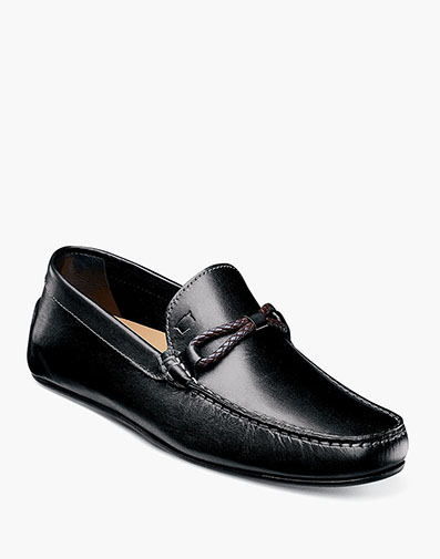 Comet Woven Bit Loafer in Black for $139.90