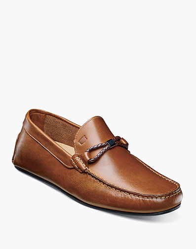 Comet Woven Bit Loafer in Brown for $139.90