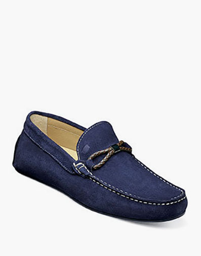Comet Woven Bit Loafer in Indigo for $139.90