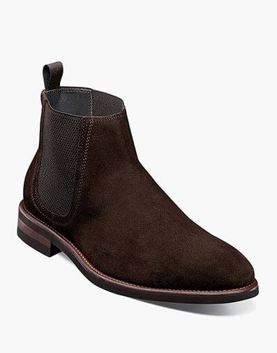 Flash XL Plain Toe Gore Boot in Brown for 250.00 dollars.