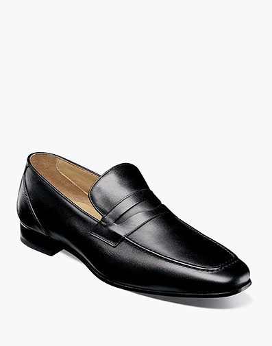 Hotter Moc Toe Penny Loafer in Black for $195.00