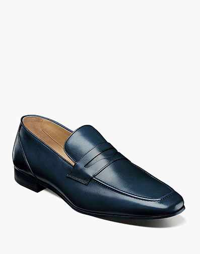 Hotter Moc Toe Penny Loafer in Ocean for $195.00