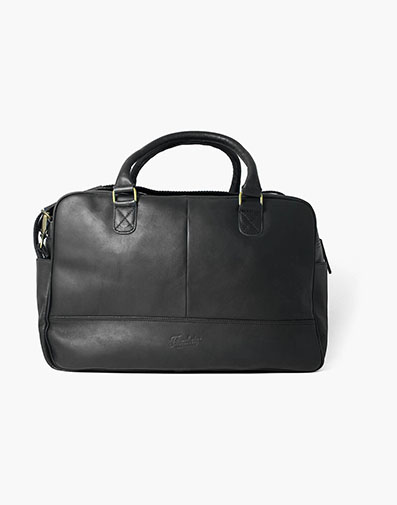 Adelmo Leather Duffle Bag in Black for 350.00 dollars.