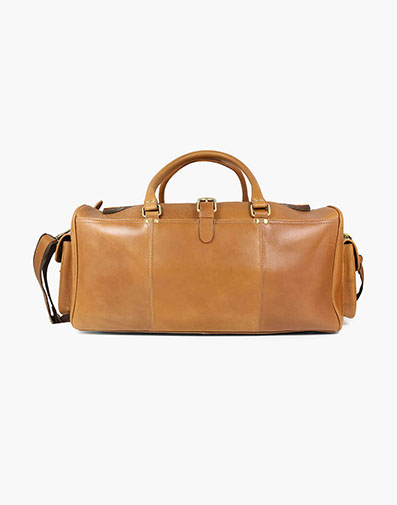 Candemir Genuine Leather Travel Bag in Cognac for $390.00