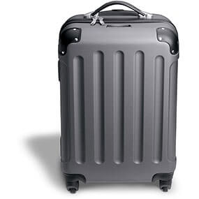 Jet Setter Carry On - Gray Hard-Shell Wheeled Luggage in Misc for $69.90