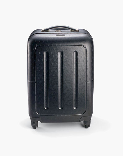 Jet Setter Carry On - Black Hard-Shell Wheeled Luggage in Misc for $69.90