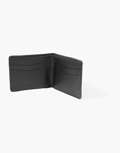 Bifold Wallet Made in USA in Black for $100.00