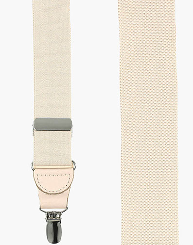 Clip Suspenders  in Tan for $36.00