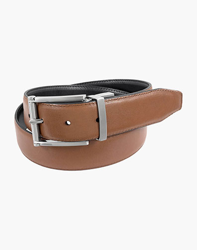 Lofton Reversible Belt in Copper for 65.00 dollars.