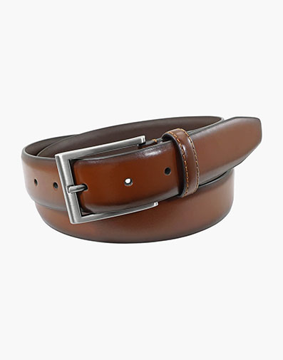 Carmine Genuine Leather Belt in Scotch Beige for $40.00