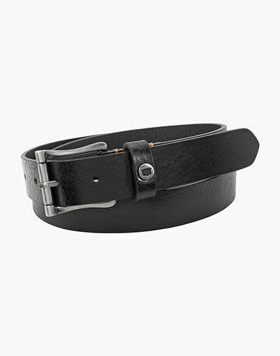 Gilmore  Saddle Leather Bit Belt in Black for 50.00 dollars.