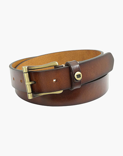 Gilmore  Saddle Leather Bit Belt in Brown for 50.00 dollars.