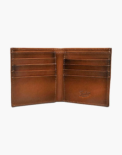 Bifold Wallet  in Tan for 40.00 dollars.