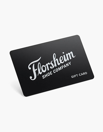 Florsheim Gift Card $50  in  for $50.00